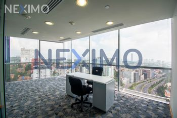 NEX-15422 - Oficina en Renta, con 620 m2 de construcción en Santa Fe Cuajimalpa, CP 05348, Ciudad de México.