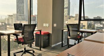 NEX-33439 - Oficina en Renta en Roma Norte, CP 06700, Ciudad de México, con 3 medio baños, con 50 m2 de construcción.