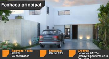 NEX-20810 - Casa en Venta en Dzityá, CP 97302, Yucatán, con 3 recamaras, con 3 baños, con 1 medio baño, con 210 m2 de construcción.