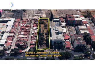 NEX-41368 - Terreno en Venta, con 2740 m2 de construcción en Rinconada Coapa 2A Sección, CP 14325, Ciudad de México.