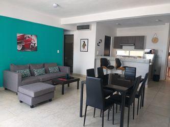NEX-39884 - Departamento en Renta en Supermanzana 510, CP 77534, Quintana Roo, con 2 recamaras, con 2 baños, con 1 m2 de construcción.