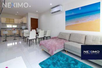 NEX-47979 - Departamento en Renta, con 3 recamaras, con 2 baños, con 115 m2 de construcción en Supermanzana 323, CP 77535, Quintana Roo.