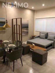 NEX-45327 - Departamento en Renta, con 1 recamara, con 1 baño, con 55 m2 de construcción en Residencial Cumbres, CP 77560, Quintana Roo.