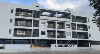 NEX-17155 - Departamento en Renta en Alborada, CP 77533, Quintana Roo, con 2 recamaras, con 2 baños, con 72 m2 de construcción.