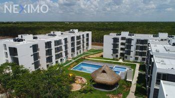 NEX-21262 - Departamento en Venta, con 2 recamaras, con 1 baño, con 50 m2 de construcción en Las Palmas, CP 77723, Quintana Roo.