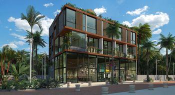 NEX-21053 - Departamento en Venta en Aldea Zama, CP 77760, Quintana Roo, con 2 recamaras, con 2 baños, con 1 medio baño, con 85 m2 de construcción.