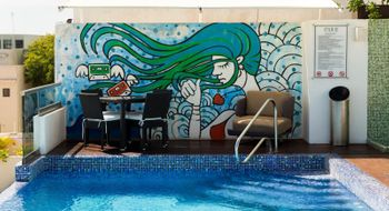 NEX-29048 - Departamento en Renta en Luis Donaldo Colosio, CP 77728, Quintana Roo, con 2 recamaras, con 2 baños, con 1 medio baño, con 100 m2 de construcción.