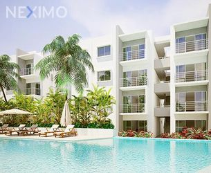 NEX-39242 - Departamento en Renta en Supermanzana 57, CP 77533, Quintana Roo, con 2 recamaras, con 2 baños, con 90 m2 de construcción.