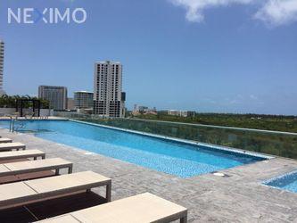 NEX-40112 - Departamento en Renta, con 2 recamaras, con 2 baños, con 99 m2 de construcción en Supermanzana 6a, CP 77503, Quintana Roo.