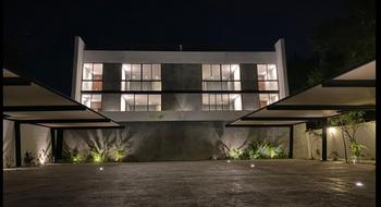 NEX-27203 - Departamento en Venta en Montes de Ame, CP 97115, Yucatán, con 1 recamara, con 1 baño, con 1 medio baño, con 75 m2 de construcción.