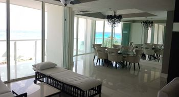 NEX-21892 - Departamento en Venta en Zona Hotelera, CP 77500, Quintana Roo, con 3 recamaras, con 3 baños, con 150 m2 de construcción.