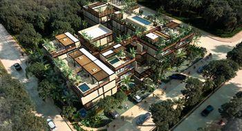 NEX-30374 - Departamento en Venta en Aldea Zama, CP 77760, Quintana Roo, con 2 recamaras, con 1 baño, con 90 m2 de construcción.