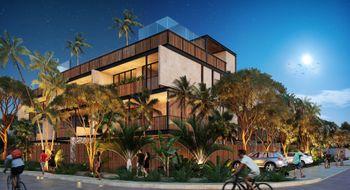 NEX-30386 - Departamento en Venta en Aldea Zama, CP 77760, Quintana Roo, con 3 recamaras, con 3 baños, con 120 m2 de construcción.