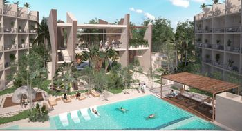 NEX-30444 - Departamento en Venta en La Veleta, CP 77760, Quintana Roo, con 1 recamara, con 1 baño, con 36 m2 de construcción.
