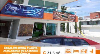 NEX-24715 - Local en Renta en Angelopolis, CP 72193, Puebla, con 1 medio baño, con 21 m2 de construcción.