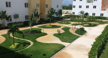 NEX-28892 - Departamento en Renta en Vista Real, CP 77518, Quintana Roo, con 2 recamaras, con 1 baño, con 70 m2 de construcción.