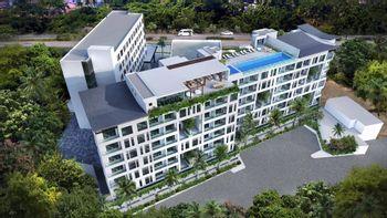 NEX-35606 - Departamento en Venta en Nuevo Vallarta, CP 63735, Nayarit, con 1 recamara, con 2 baños, con 81 m2 de construcción.