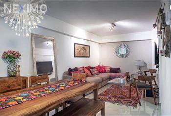 NEX-39642 - Departamento en Venta en Roma Norte, CP 06700, Ciudad de México, con 2 recamaras, con 2 baños, con 65 m2 de construcción.
