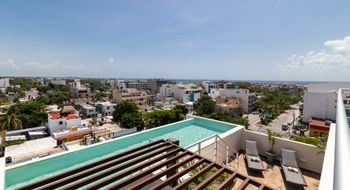 NEX-34760 - Departamento en Venta en Zazil Ha, CP 77720, Quintana Roo, con 1 recamara, con 1 baño, con 48 m2 de construcción.