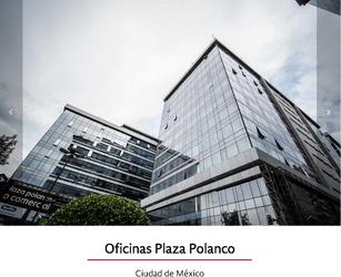 NEX-35436 - Oficina en Renta en Polanco IV Sección, CP 11550, Ciudad de México, con 2 baños, con 876 m2 de construcción.