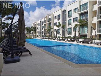 NEX-53688 - Departamento en Renta, con 3 recamaras, con 2 baños, con 1 medio baño, con 80 m2 de construcción en Supermanzana 312, CP 77533, Quintana Roo.