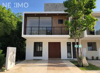 NEX-37007 - Casa en Venta, con 3 recamaras, con 2 baños, con 1 medio baño, con 134 m2 de construcción en Arbolada, CP 77533, Quintana Roo.