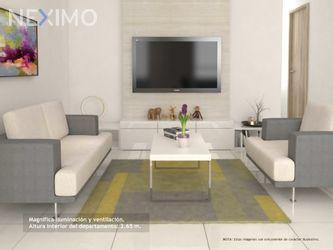 NEX-51847 - Departamento en Venta, con 2 recamaras, con 2 baños, con 62 m2 de construcción en Portales Oriente, CP 03570, Ciudad de México.