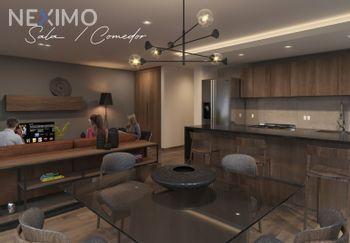 NEX-40411 - Departamento en Venta, con 2 recamaras, con 2 baños, con 128 m2 de construcción en Hipódromo, CP 06100, Ciudad de México.