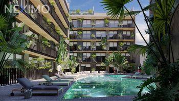 NEX-40590 - Departamento en Venta en Gonzalo Guerrero, CP 77720, Quintana Roo, con 1 recamara, con 1 baño, con 33 m2 de construcción.
