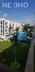 NEX-40740 - Departamento en Renta en Supermanzana 57, CP 77533, Quintana Roo, con 3 recamaras, con 2 baños, con 1 medio baño, con 110 m2 de construcción.