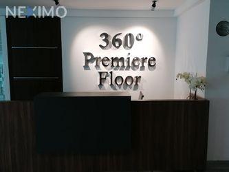 NEX-45898 - Oficina en Renta, con 1 recamara, con 2 baños, con 45 m2 de construcción en Nápoles, CP 03810, Ciudad de México.