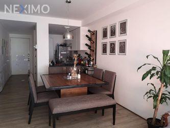 NEX-43279 - Departamento en Renta, con 2 recamaras, con 2 baños, con 81 m2 de construcción en Lomas de Santa Fe, CP 01219, Ciudad de México.