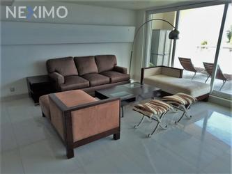 NEX-45679 - Departamento en Renta, con 2 recamaras, con 2 baños, con 1 medio baño, con 180 m2 de construcción en Zona Hotelera, CP 77500, Quintana Roo.