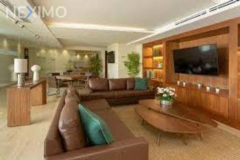 NEX-54338 - Departamento en Renta, con 3 recamaras, con 3 baños, con 161 m2 de construcción en Residencial Cumbres, CP 77560, Quintana Roo.
