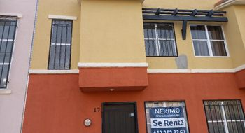 NEX-34870 - Casa en Renta en Real Solare, CP 76246, Querétaro, con 2 recamaras, con 1 baño, con 1 medio baño, con 65 m2 de construcción.