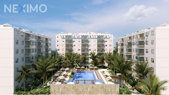 NEX-32479 - Departamento en Venta, con 3 recamaras, con 3 baños, con 100 m2 de construcción en Cancún Centro, CP 77500, Quintana Roo.
