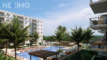 NEX-32616 - Departamento en Venta, con 3 recamaras, con 3 baños, con 99 m2 de construcción en Cancún Centro, CP 77500, Quintana Roo.
