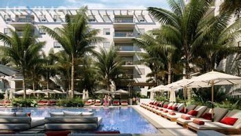 NEX-32619 - Departamento en Venta, con 4 recamaras, con 3 baños, con 126 m2 de construcción en Cancún Centro, CP 77500, Quintana Roo.