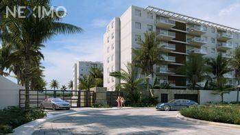 NEX-32702 - Departamento en Venta, con 3 recamaras, con 3 baños, con 99 m2 de construcción en Cancún Centro, CP 77500, Quintana Roo.