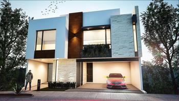 NEX-28789 - Casa en Venta en Privadas del Pedregal, CP 78295, San Luis Potosí, con 3 recamaras, con 3 baños, con 2 medio baños, con 308 m2 de construcción.
