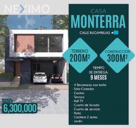NEX-34405 - Casa en Venta, con 3 recamaras, con 3 baños, con 2 medio baños, con 405 m2 de construcción en Monterra, CP 78215, San Luis Potosí.
