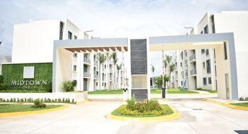 NEX-2493 - Departamento en Venta en Cancún Centro, CP 77500, Quintana Roo, con 3 recamaras, con 2 baños, con 112 m2 de construcción.