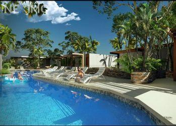 NEX-47438 - Departamento en Venta, con 1 recamara, con 1 baño, con 68 m2 de construcción en Aldea Zama, CP 77760, Quintana Roo.