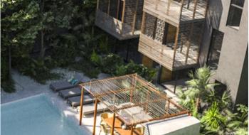 NEX-16019 - Departamento en Venta en La Veleta, CP 77760, Quintana Roo, con 2 recamaras, con 2 baños, con 82 m2 de construcción.