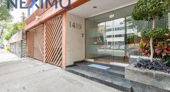 NEX-13915 - Departamento en Renta en Del Valle Centro, CP 03100, Ciudad de México, con 2 recamaras, con 2 baños, con 120 m2 de construcción.