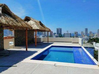 NEX-36427 - Departamento en Venta en Costa Azul, CP 39850, Guerrero, con 3 recamaras, con 2 baños, con 107 m2 de construcción.